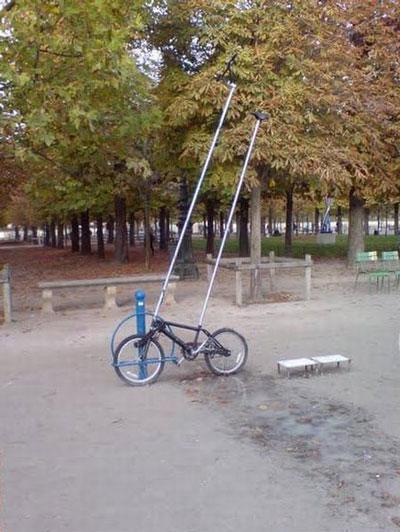 прикольные фотографии велосипед