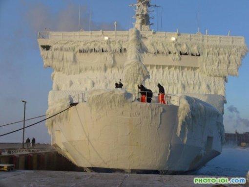 прикол ледяной корабль