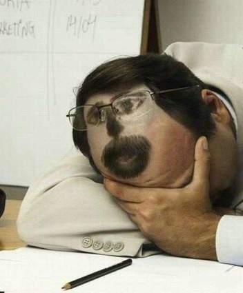 прикол над спящим